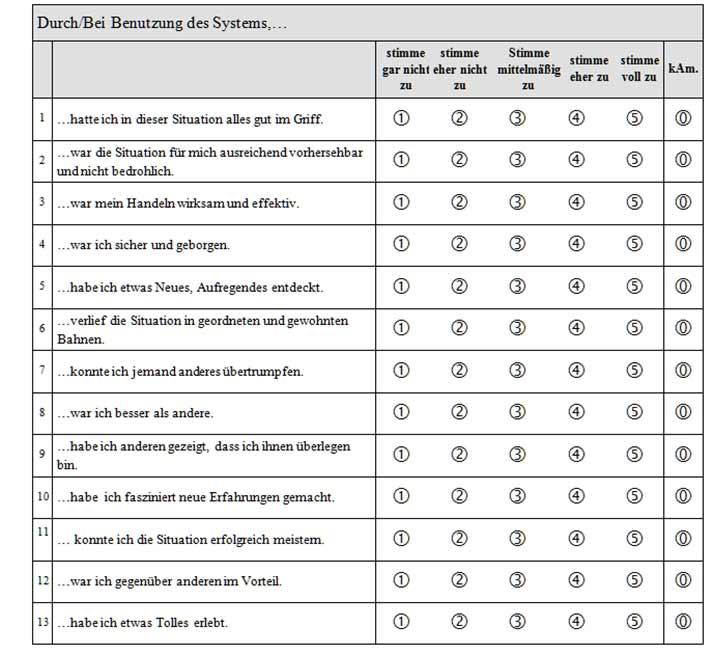 Evaluationsbogen Vorlage